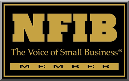 Proud member of the National Federation of Independent Business (NFIB)!